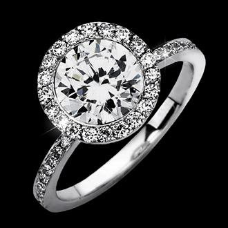 Кольцо с бриллиантом 5 карат