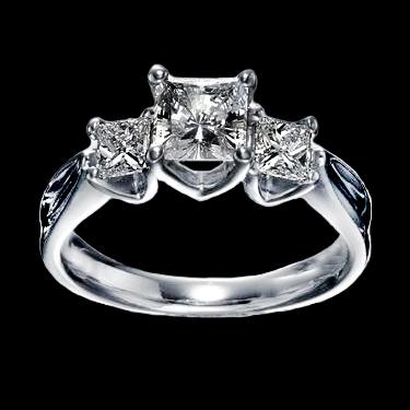 мужское кольцо с бриллиантом 1-1.5 карат