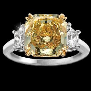 Кольцо с бриллиантом 10 карат